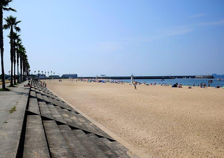 [南海沿線ビーチスポット] りんくう南浜海水浴場(タルイサザンビーチ)