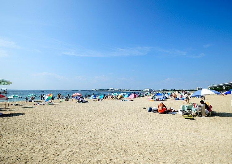 [南海沿線ビーチスポット] 二色の浜海水浴場