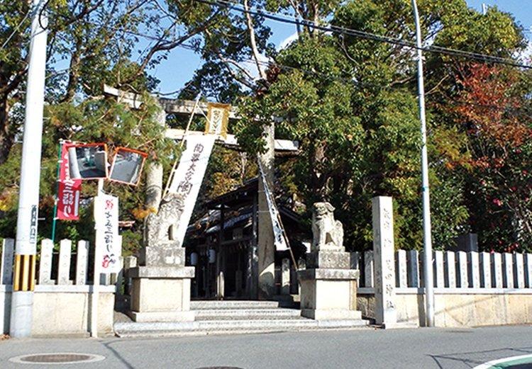 [ぶらりヘルシー 休日編]須恵器ゆかりの陶荒田神社から西高野街道を経て堺のピラミッド「土塔」へめぐるコース