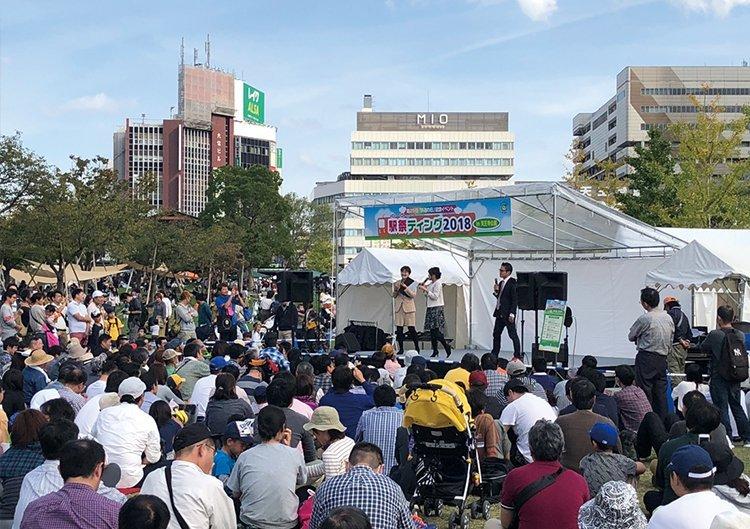 駅祭ティング2019 in 天王寺公園