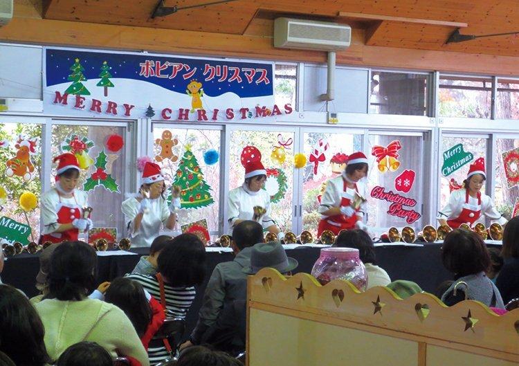 堺市都市緑化センター クリスマスハンドベルコンサート