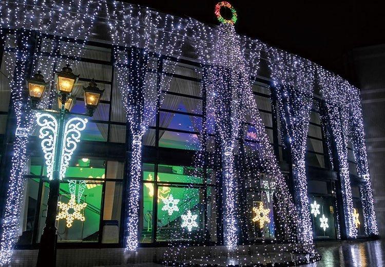 ラブリーホール クリスマスイルミネーション2020