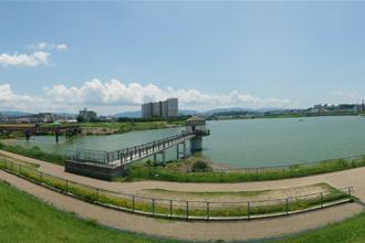狭山池と大阪府立狭山池博物館