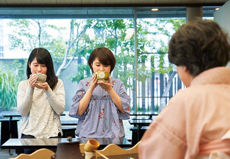 さかい利晶の杜<立札呈茶(抹茶と和菓子)>