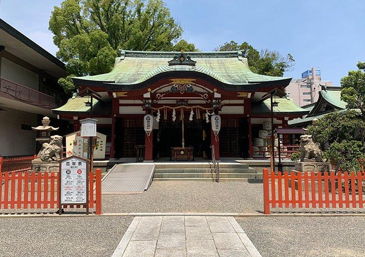 開口神社(あぐちじんじゃ)